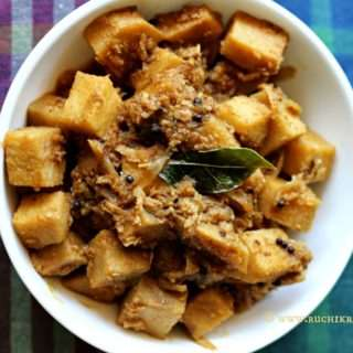 Soorn Sukhe – Yam Sukka Using Mangalorean Vegetable Powder