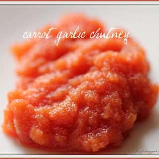 Carrot Garlic Chutney
