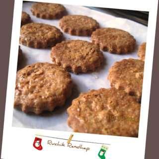 Zimtsterne ~ German Christmas Cookies