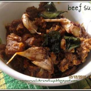 Beef Sukka