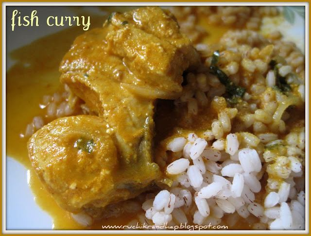 Fish Curry With Coconut for Sanaki/Mudav/Ghol