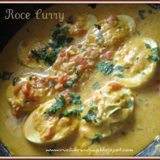 Egg Roce (Coconut Milk) Curry