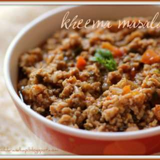 Chicken Kheema (Mince) Masala