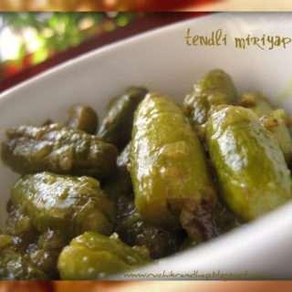 Tendli Miriyapito (Ivy Gourd Pepper)