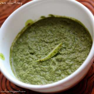 Curry Leaves (Kadipatta) Chutney