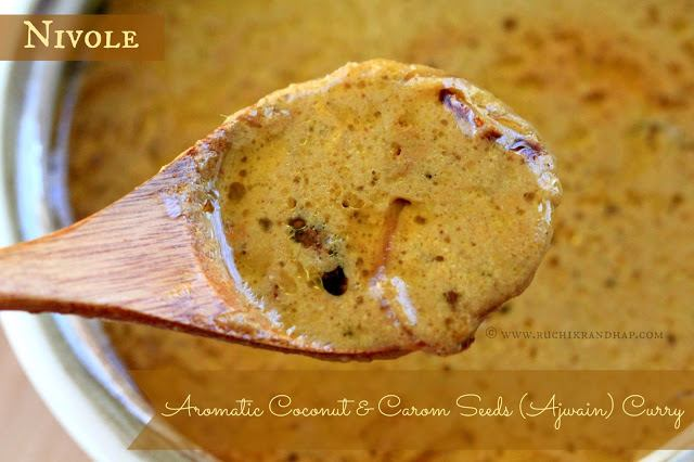 Nivole (Aromatic Coconut & Carom Seeds (Ajwain) Curry) ~ Mangalorean Post Natal Recipe #2