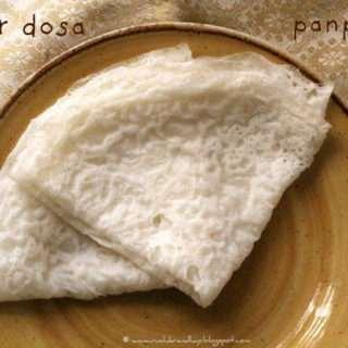 Panpolay/Neer Dosa – Simple Rice Pancakes