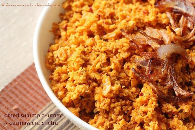 Dried Shrimp Chutney (Galmbyachi Chetni) +Video!