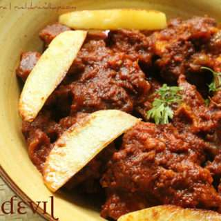 Beef Devil ~ Mangalorean Style + Video!