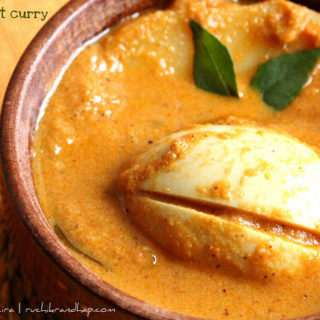 Egg Coconut Curry