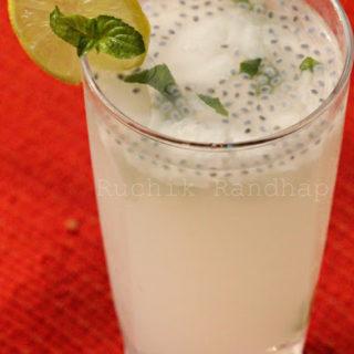 Bonda Sharbat With A Twist (Tender Coconut Sherbet)