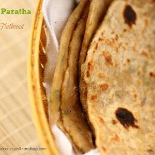 Mooli Paratha (Whole Wheat & Radish Flat Bread)