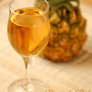 Pineapple Peel Wine