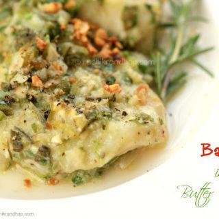 Basa in Butter Garlic