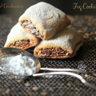 Orange & Cardamom Fig Cookies (Newtons)