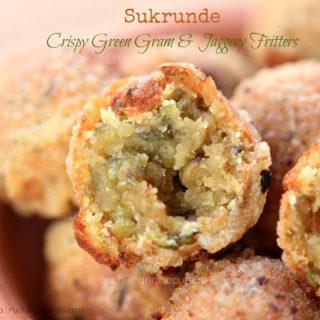 Sukrunde (Crispy Green Gram & Jaggery Fritters) – Christmas Goodies – Kuswar