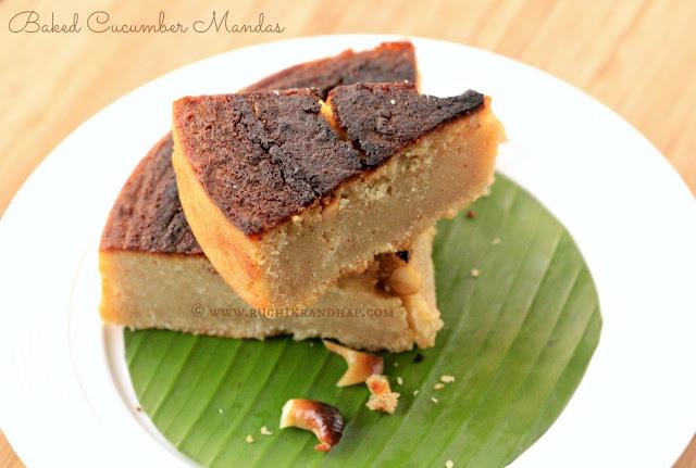 Bread Cake Recipe In Kadai: Rice & Cucumber Cake + Video