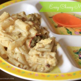 Easy Cheesy Macaroni ~ Kiddie Meal – Treats for Tiny Tots