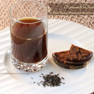 Kaljiryaso Kasai (Herbal Kashayam / Decoction of Ironweed Seeds) ~ Mangalorea Post Natal Recipe # 1