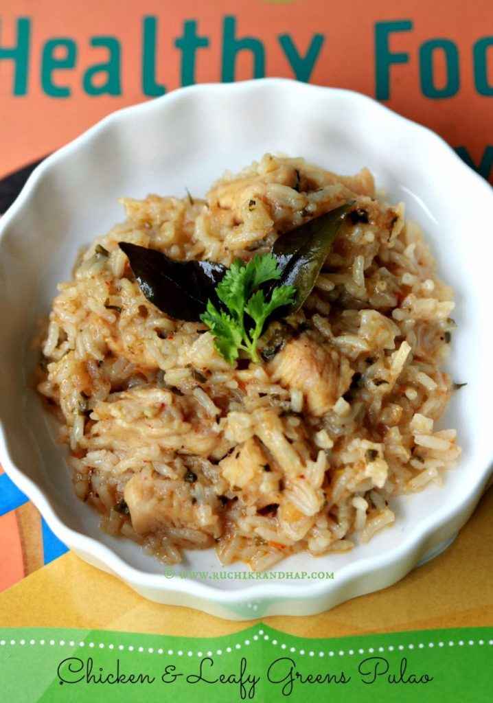 Homemade Baby Food Chicken Leafy Greens Pulao Ruchik Randhap