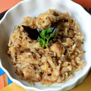 Homemade Baby Food – Chicken & Leafy Greens Pulao