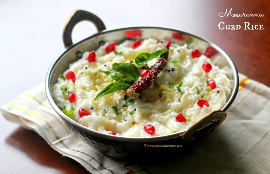 Mosaranna curd rice south indian style tempered yogurt rice mosaranna curd rice south indian style tempered yogurt rice forumfinder Choice Image