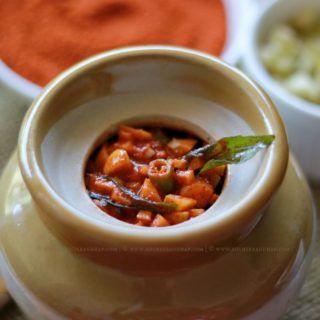 Kosrache Lonche | Mangalorean Catholic Style Shredded Raw Mango Pickle (When the Hubby Cooks!)