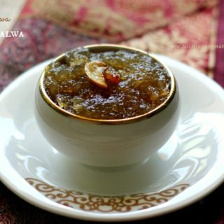 Kashi Halwa ~ Karnataka Style Ash Gourd Halwa