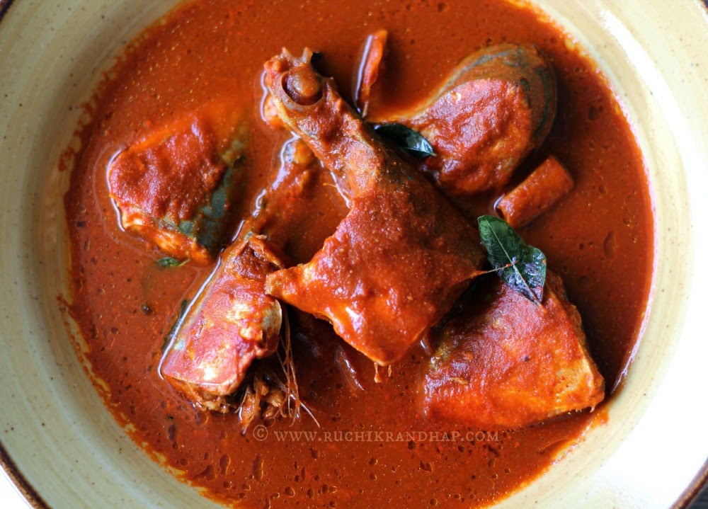 recipe: king fish curry mangalorean style [33]