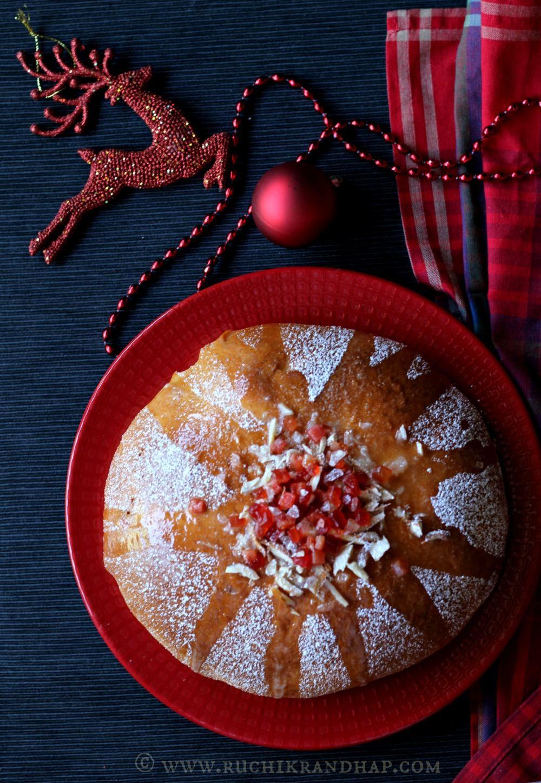 Julekake / Julekaga ~ Norwegian Cardamom Scented Christmas Bread ...