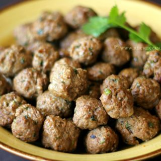 Meatballs ~ In an Airfryer! ~ When The Hubby Cooks!