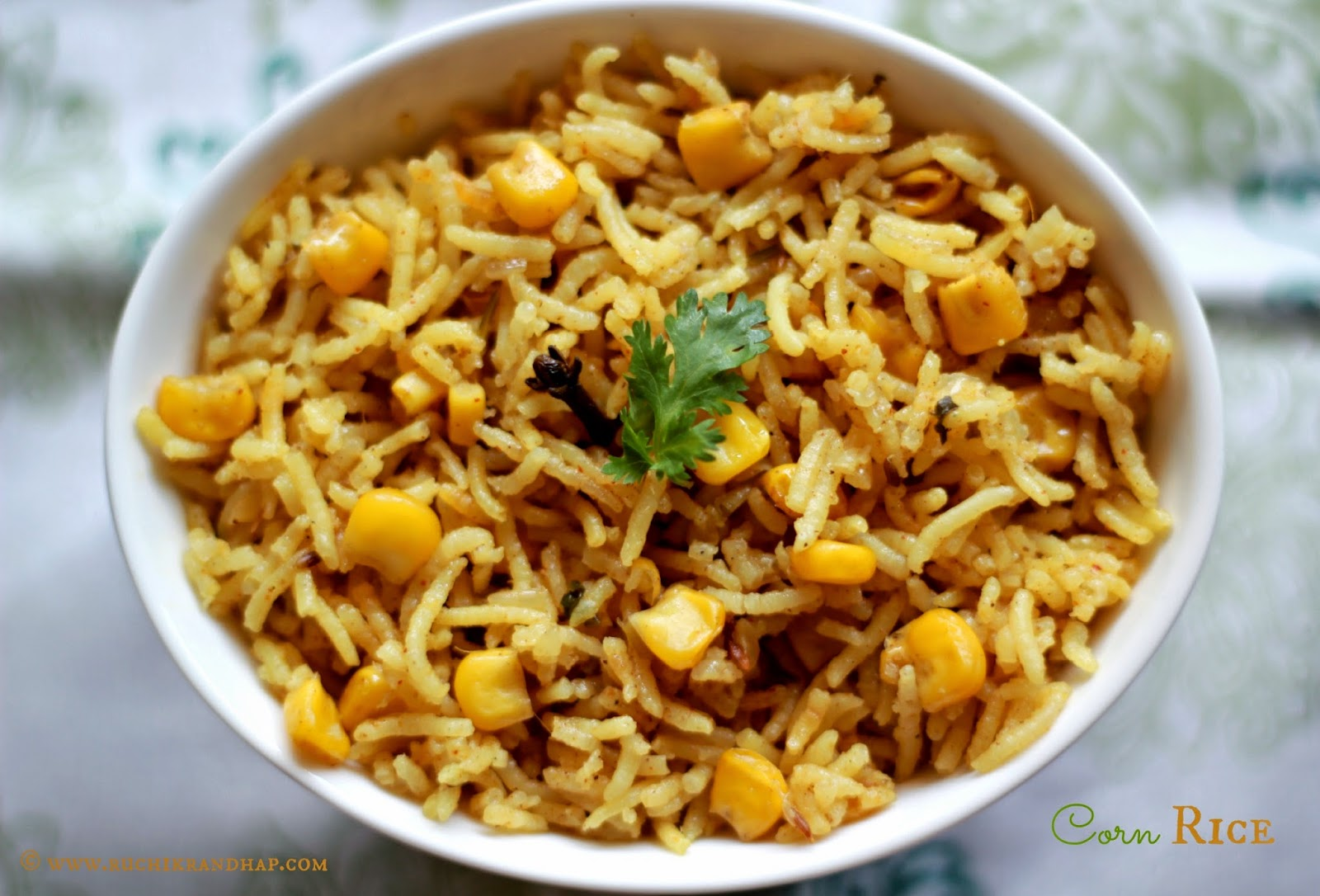 You May Also Enjoy: Palak Veg Biryani Corn Rice
