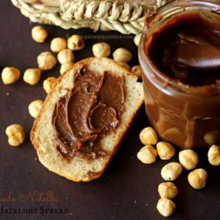 Homemade Nutella (Chocolate Hazelnut Spread) ~ Just Takes 3 Ingredients!