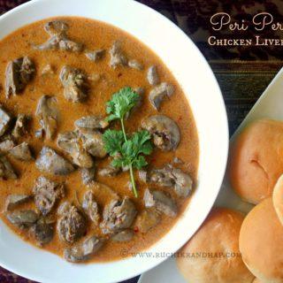 Peri Peri Chicken Livers ~ Cheat's Recipe