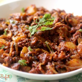 Choriz Bafat ~ Goan Sausages with a Mangalorean Twist!