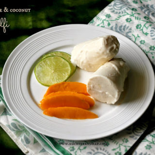 Creamy Lime & Coconut Kulfi
