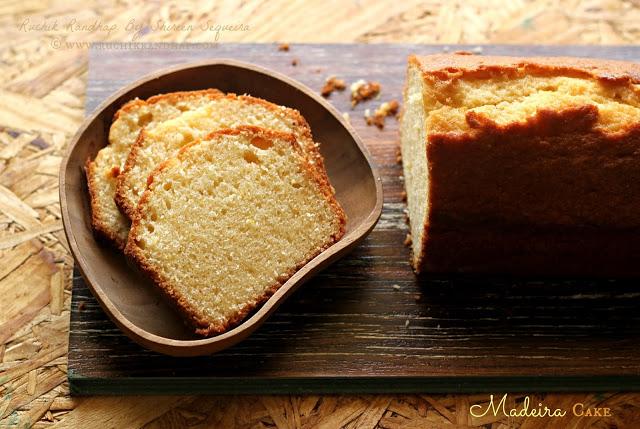 Basic Madeira Cake Recipe