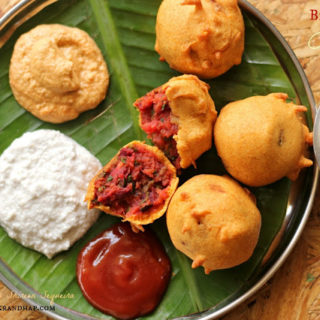 Kapi Falhaar#5 ~ Beetroot Bonda | Vegetable Bonda~ Mixed Vegetable Fritters