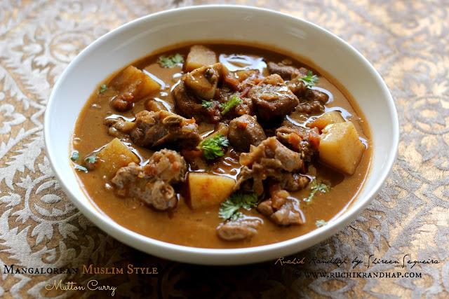 Malvani Mutton Curry - Ruchik Randhap