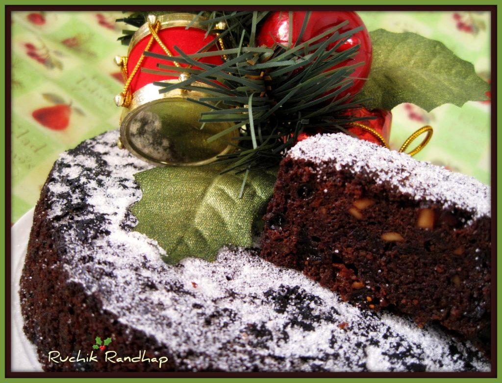 Feeding A Christmas Cake Non Alcoholic