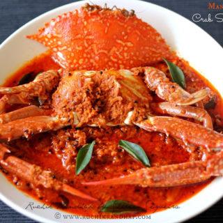 Mangalorean Crab Sukka Masala ~ When The Hubby Cooks!