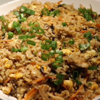 Chicken Fried Rice ~ When The Hubby Cooks!