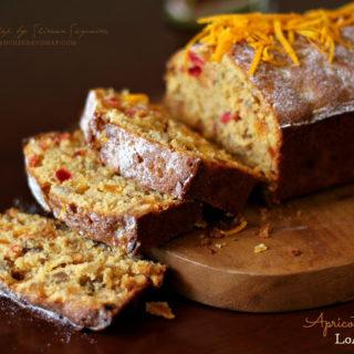 Apricot & Orange Loaf Cake