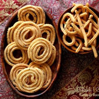 Chakli | Chakkuli | Savoury Rice Spirals