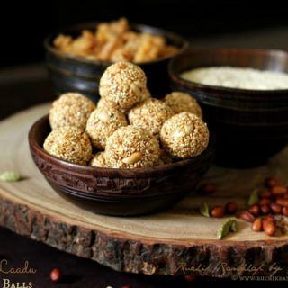 TiLache Laadu | Ellunde ~ Sesame Seed Balls ~ Traditional Mangalorean Kuswar