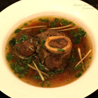 Beef Bone Soup ~ Winter Comfort Food ~ When The Hubby Cooks!