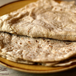 JoLada Rotti ~ North Karnataka Style Sorghum Flatbread | 500th Recipe on The Blog! #Breadbakers