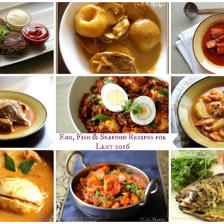 Egg, Fish & Seafood Recipes for Lent 2016