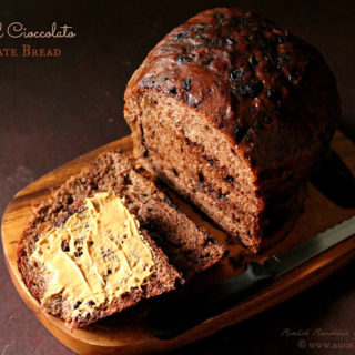 Pane Al Cioccolato ~ Chocolate Bread #Breadbakers