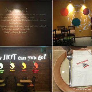 Restaurant Review ~ Galito's, Bay Square, Dubai (UAE)
